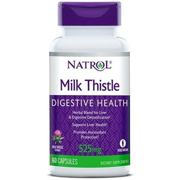 Natrol Milk Thistle Advantage 60 капсулиNAT423