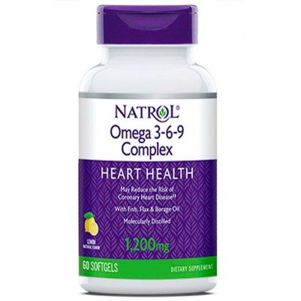 Natrol Omega 3-6-9 Complex 60 дражетаNAT441