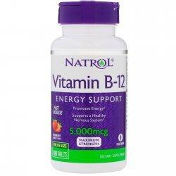 Natrol Vitamin B12 Fast Dissolve 5000 мкг 100 таблетки
