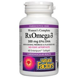 Natural Factors Омега Фактор За Жени 1035 мг 60 дражета