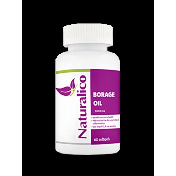 Naturalico Borage Oil 60 софтгел капсулиNL81
