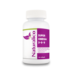 Naturalico Super Omega 3 6 9 90 гел капсули
