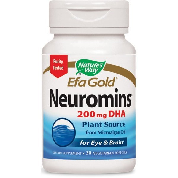 Nature's Way Neuromins DHA 200 мг 30 капсули15438