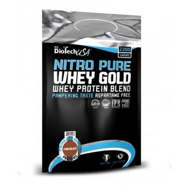 Biotech Nitro Pure Whey Gold 2200 гр.BT417