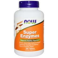 NOW Super Enzymes 180 таблетки