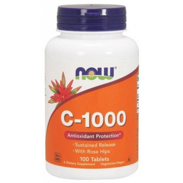NOW Витамин C-1000 RH NO Timed Release 100 таблеткиNOW685