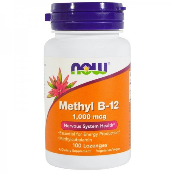 NOW Methyl B-12 1000 mcg 100 дражетаNOW495