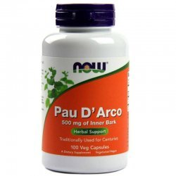 NOW Pau D'Arco 100 капсули
