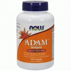 NOW ADAM Men's Vitamins 90 дражета