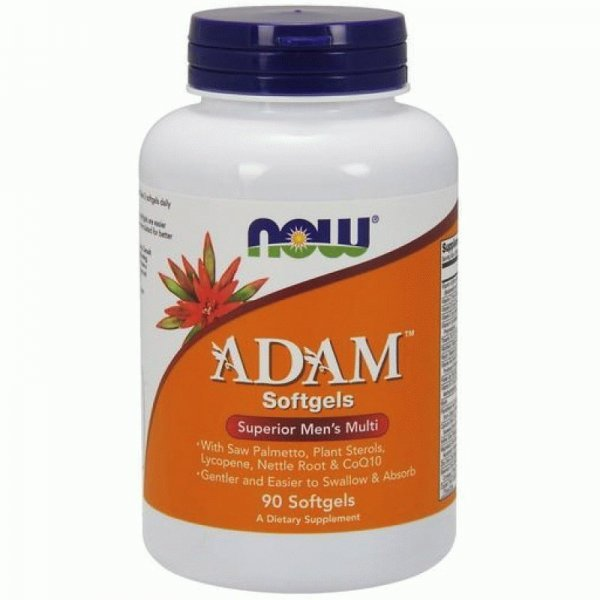 NOW ADAM Men's Vitamins 90 дражетаNOW3880