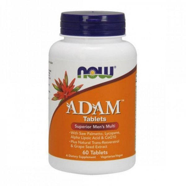 NOW ADAM Men's Vitamins 60 таблеткиNOW3875