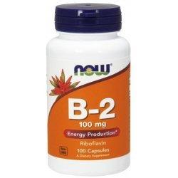 NOW Витамин B-2 (Riboflavin) 100 мг 100 капсули