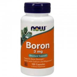 NOW Boron 3 mg 100 капсули