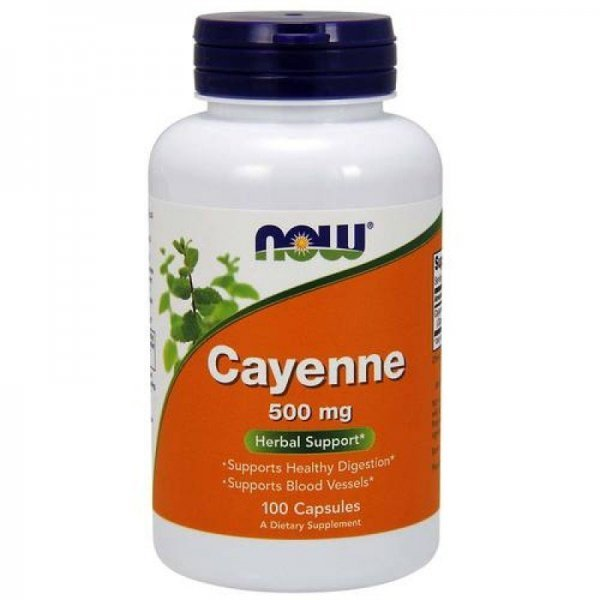 NOW Cayenne 500 мг 100 капсулиNOW4625