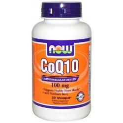 NOW COQ10 100 mg 30 капсули