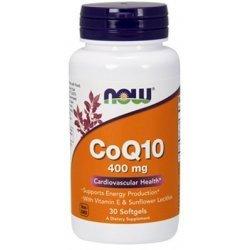 NOW COQ10 400 мг 30 дражета