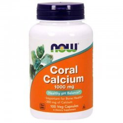 NOW Coral Calcium 100 капсули