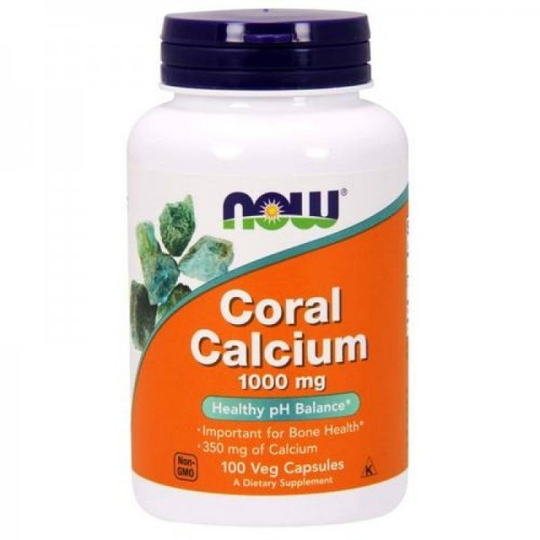 NOW Coral Calcium 100 капсулиNOW1273