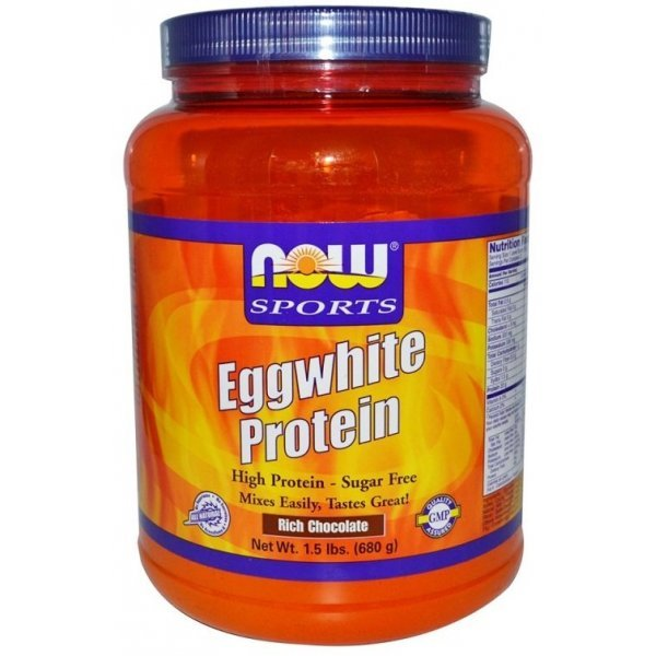 NOW Egg Protein 680 грNOW2044