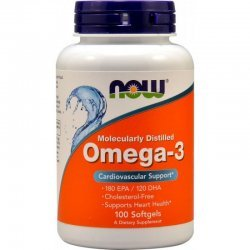 NOW Omega 3 100 дражета