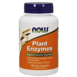 NOW Plant Enzymes 120 капсули