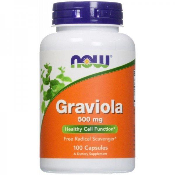 NOW Graviola 100 капсули   NOW4703
