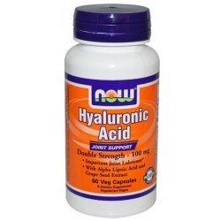 NOW Хиалуронова киселина 60 капсули