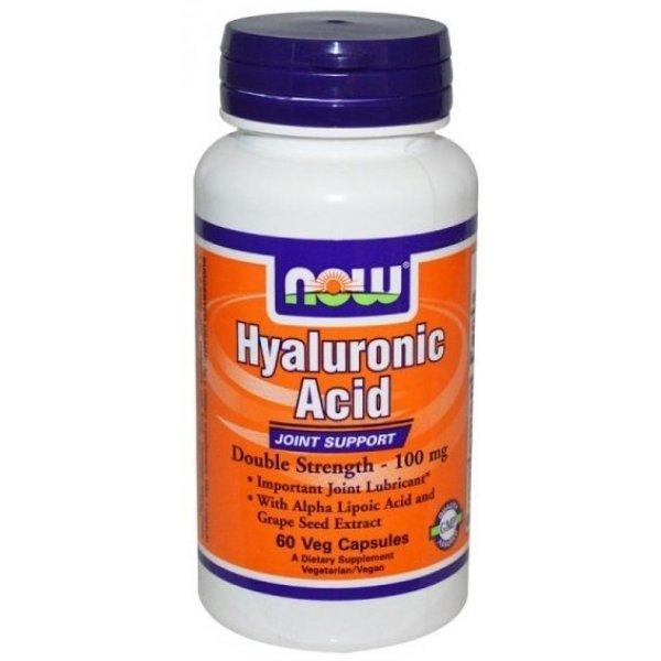 NOW Хиалуронова киселина 60 капсулиХиалуронова киселина