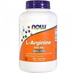 NOW L-Arginine 250 капсули