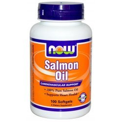 NOW Salmon Oil 100 дражета