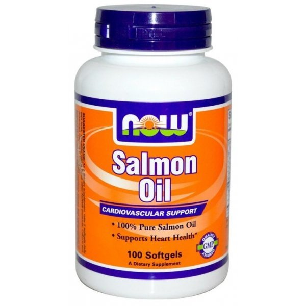 NOW Salmon Oil 100 дражетаNOW1670