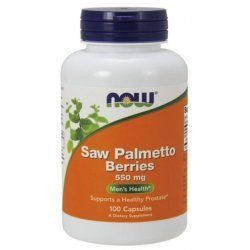 NOW Saw Palmetto 550 мг 100 капсули