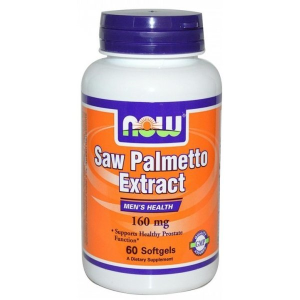 NOW Saw Palmetto 160 мг 60 дражетаNOW4740