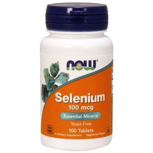 NOW Selenium 100 таблеткиNOW1480