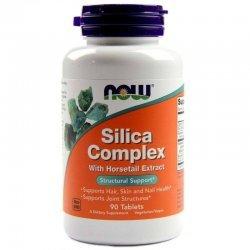 NOW Silica Complex 90 таблетки
