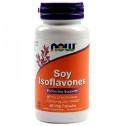 NOW Soy Isoflavones 60 капсули