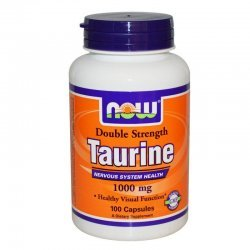 NOW Taurine 1000 mg 100 капсули