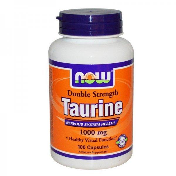 NOW Taurine 1000 mg 100 капсулиNOW142