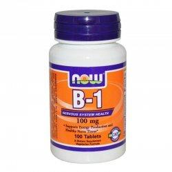 Витамин B-1 (Thiamine) 100мг 100 таблетки