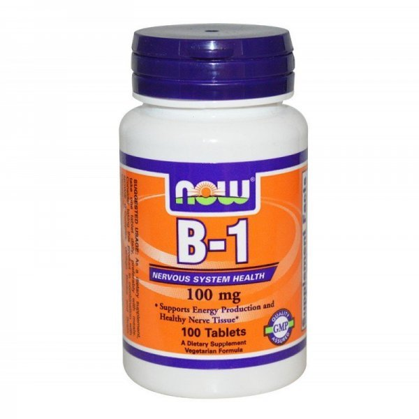 Витамин B-1 (Thiamine) 100мг 100 таблеткиNOW446