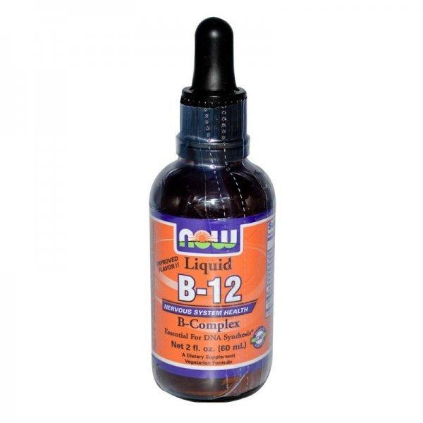 NOW B-12 Complex Liquid 60 млNOW464