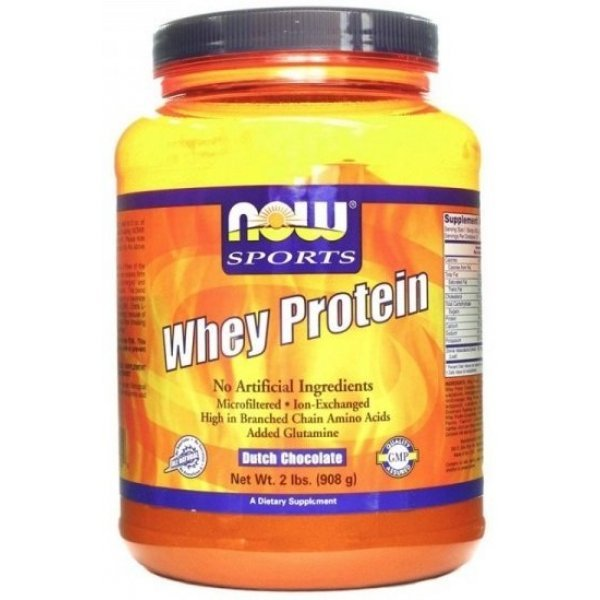 NOW Whey Protein 908 грNOW2178