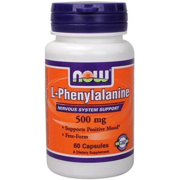 NOW Phenylalanine 60 капсулиNOW130