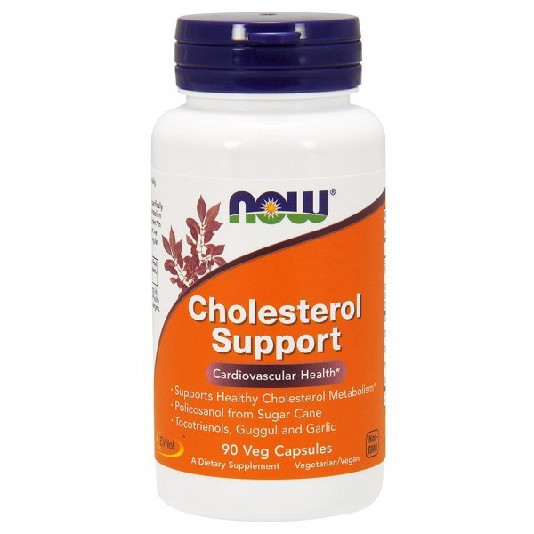 NOW Cholesterol support 90 капсулиcholesterolsupport