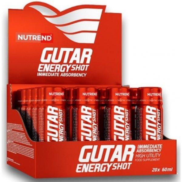 Nutrend GUTAR ENERGY SHOT 20 х 60 млNutrend GUTAR ENERGY SHOT 20 х 60 мл
