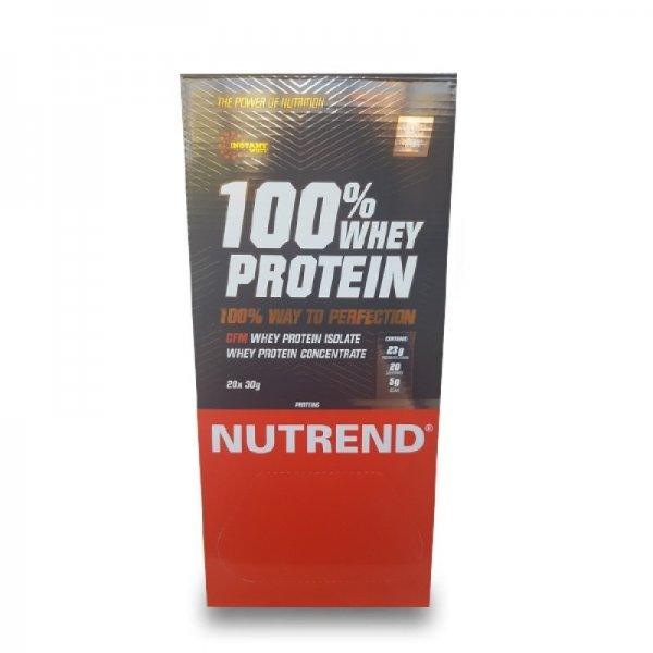 NUTREND 100% WHEY PROTEIN 20бр x 30грNU30931