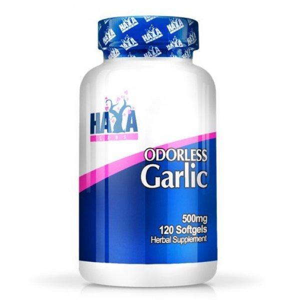 Haya Odorless Garlic 500 мг 120 дражетаHaya Odorless Garlic 500 мг 120 дражета