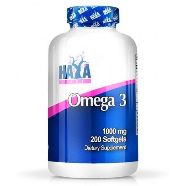 Haya Omega 3 1000 мг 200 дражетаHaya Omega 3 1000 мг 200 дражета
