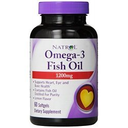 Natrol Omega-3 Fish Oil 1200 мг 60 дражета