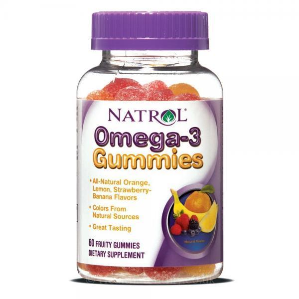 Natrol Omega 3 Gummies 60 дъвчащи дражетаNAT439